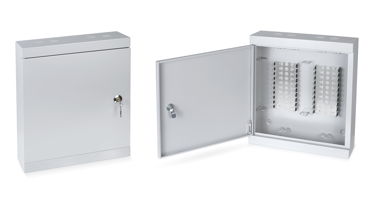 Cabeus DB-200P Коробка распределительная на 200 пар, 450х420х75 мм