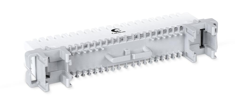 Cabeus CM-10P-P Плинт соединительный на 10 пар, для крепления на штанге, маркировка 0-9