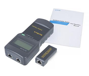 Cabeus CT-LCD-RJ45 Тестер для витой пары c LCD дисплеем