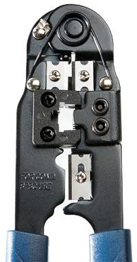 Cabeus HT-210C Инструмент обжимной для RJ-45.