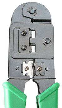 Устройство обжимное для RJ-45, RJ-12.