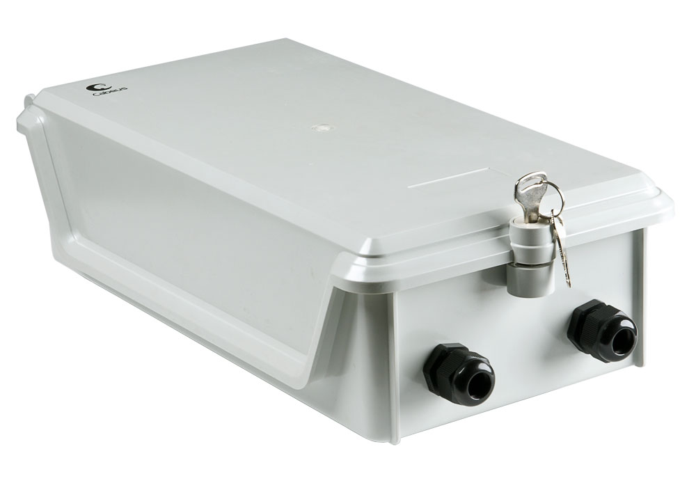 Cabeus O-DB-100P (OUT) Коробка распределительная на 100 пар, 350х190х95 мм, IP 54, для улицы