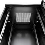 Mонтажный шкаф Cabeus<br>Крыша оснащена кабельным щеточным вводом<br>Активная (принудительная) вентиляция заказывается дополнительно.